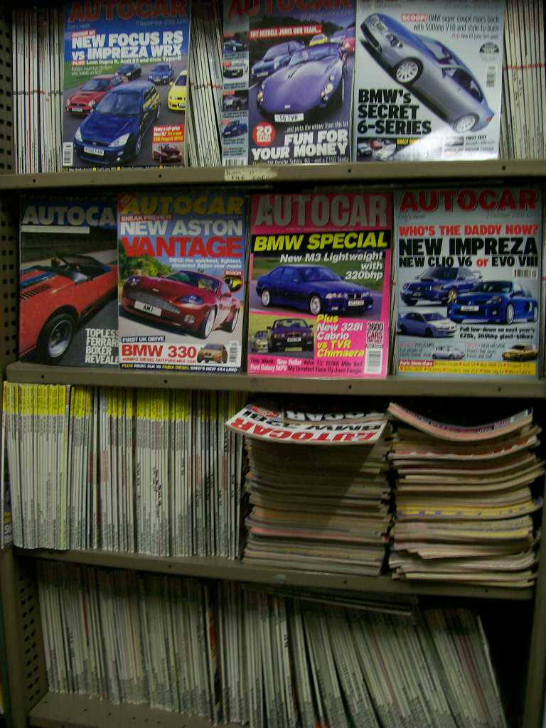 AUTOCAR BACK ISSUES 1960s TO 2000s MOST $5 EACH 100s IN STOCK