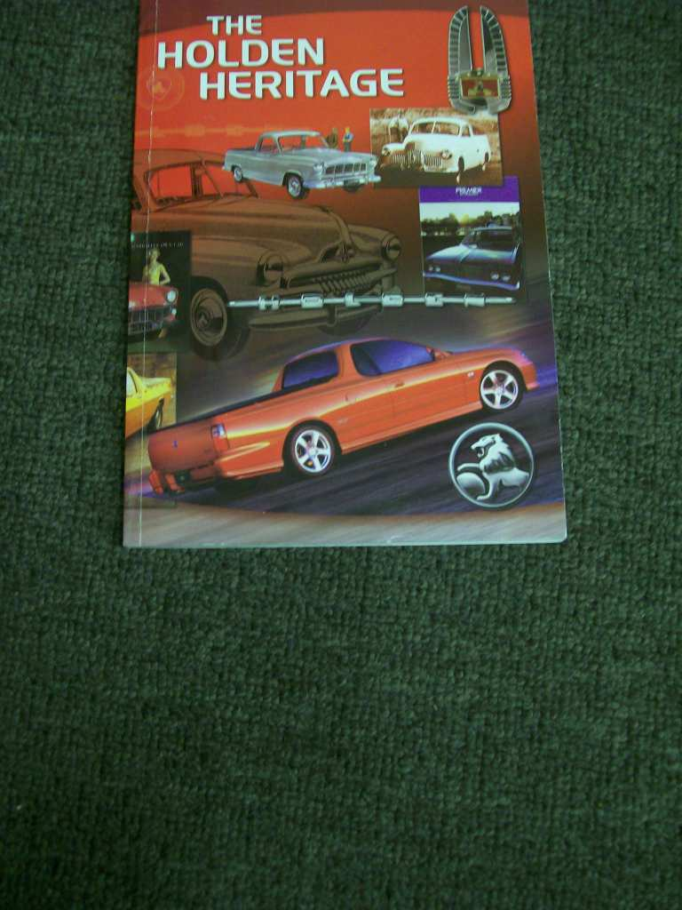 HOLDEN HERITAGE BOOK EDITION 10