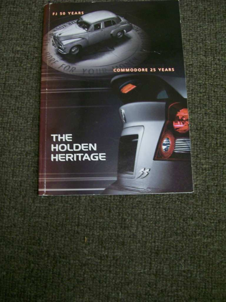 HOLDEN HERITAGE BOOK EDITION 11