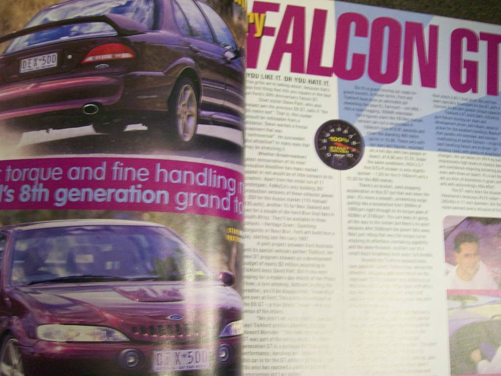 STREET MACHINE MAGAZINE 1997/03 EL FALCON GT RELEASE TEST