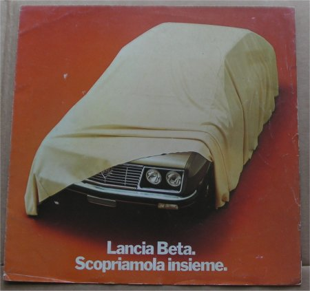 LANCIA BETA SALES BROCHURE
