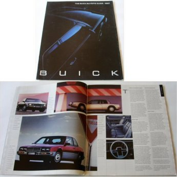 BUICK 1987 BUYERS GUIDE RIVIERA  ELECTRA PARK AVEN