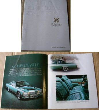 CADILLAC 1979 SALES BROCHURE MORE THAN EVER