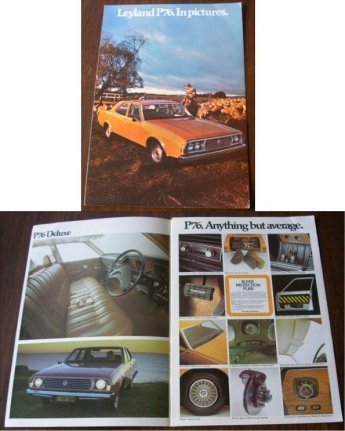 LEYLAND P76 SALES BROCHURE IN PICTURES COLOUR