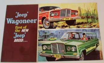 JEEP 1960S WAGONEER SALES BROCHURE