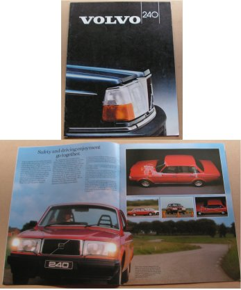 VOLVO 240 1983 SALES BROCHURE