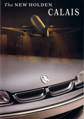 HOLDEN  COMMODORE CALAIS 1995 VS SALES  BROCHURE