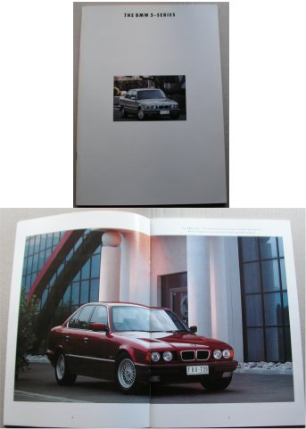BMW 1994 520i 525i 530i 540i SALES BROCHURE