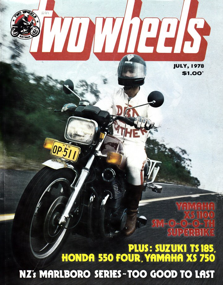 TWO WHEELS MAGAZINE 1978/07 XS1000 HONDA 550  XS750 YAMAHA