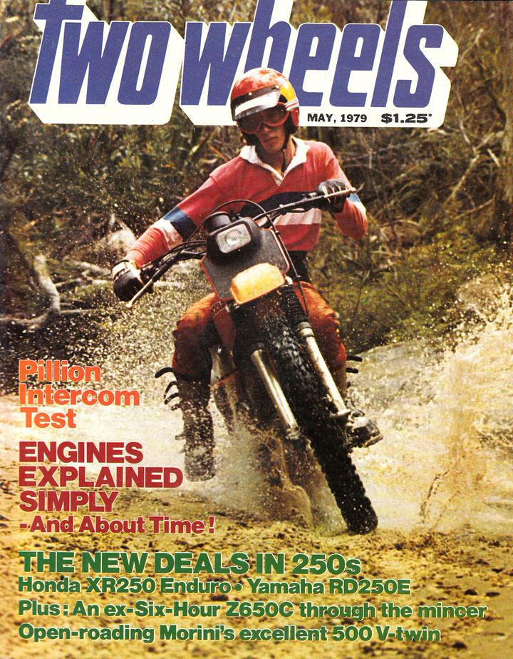 TWO WHEELS MAGAZINE 1979/05 XR250 RD250E MORINI 500  Z650C