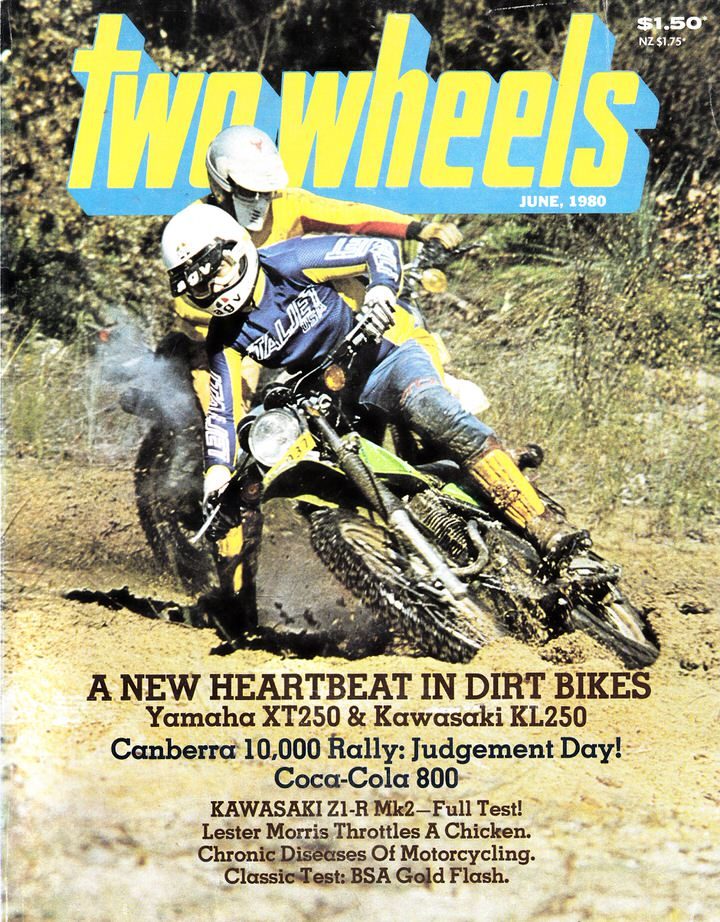 TWO WHEELS MAGAZINE 1980/06