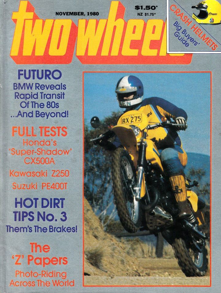 TWO WHEELS MAGAZINE 1980/11