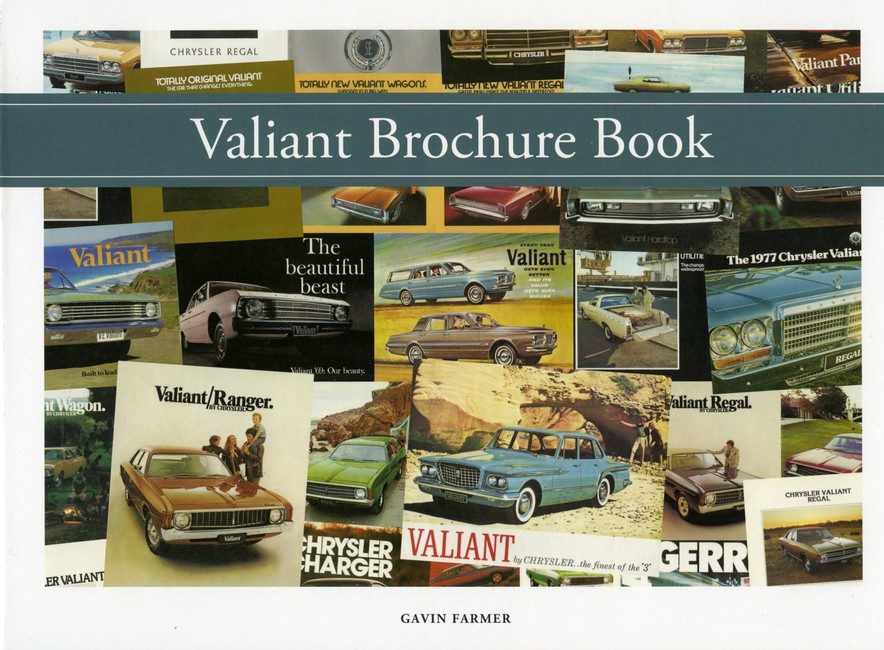VALIANT AUSTRALIAN BROCHURE BOOK 1962 TO 1981
