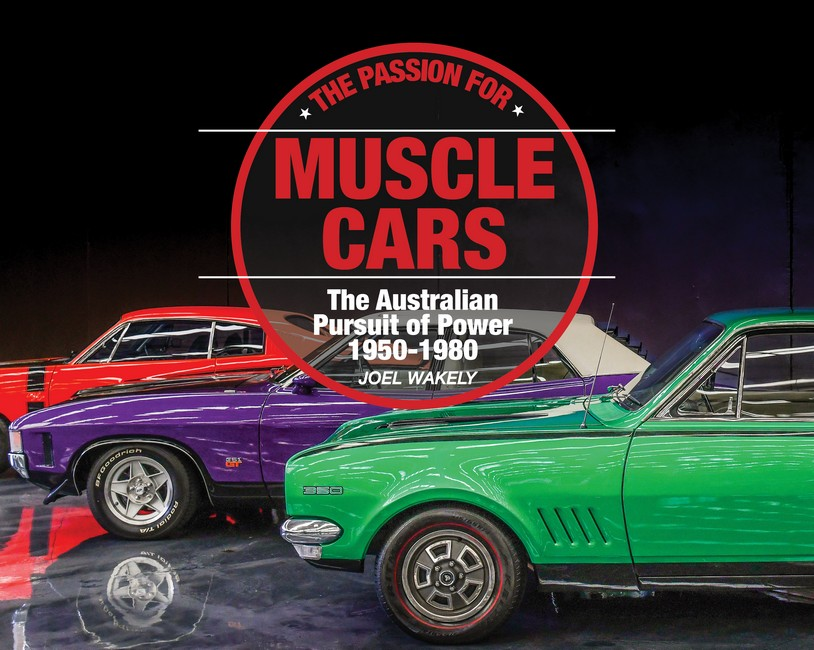 passion for muscle cars by J  Wakely