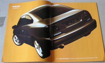 VOLVO C70 1998 SALES BROCHURE