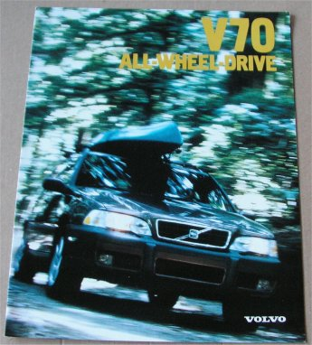 VOLVO V70 1998 SALES BROCHURE