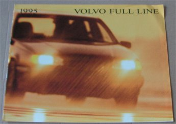 VOLVO 1995 850 960 940 SALES BROCHURE