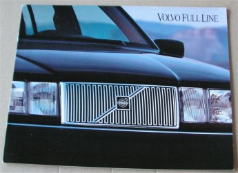 VOLVO 1993 850 960 940 SALES BROCHURE
