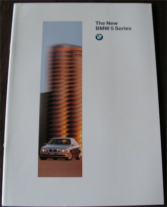 BMW 1996 528i 540i SALES BROCHURE