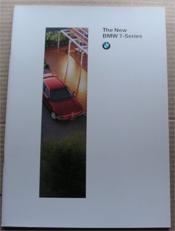 BMW 1994 730iL 740iL 750iL SALES BROCHURE