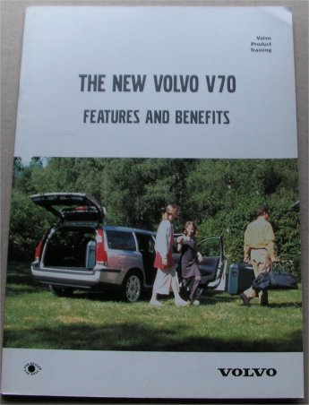 VOLVO V70 1999 PRODUCT TRAINING BROCHURE