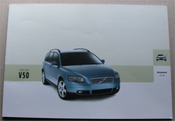 VOLVO V50 2004 SALES BROCHURE