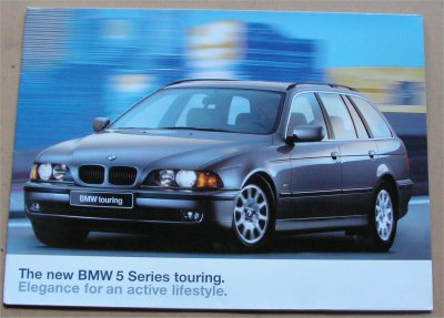 BMW 1997 528i TOURING SALES BROCHURE