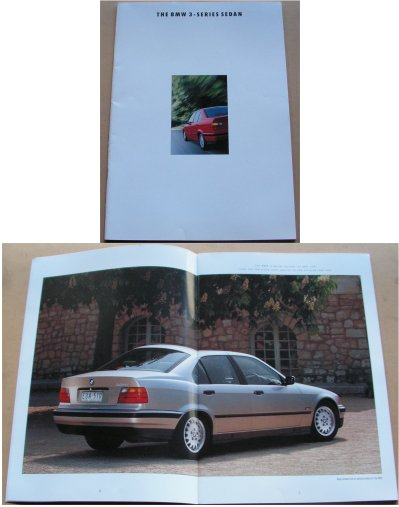 BMW 1992 SALES BROCHURE 318i 320i 325i