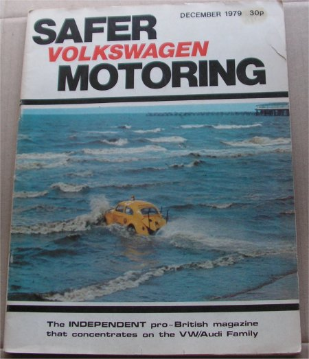 SAFER MOTORING 1979/12 VW AUDI MAGAZINE