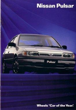 1993 nissan patrol brochures: