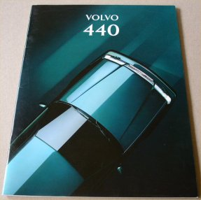 VOLVO 440 1994 SALES BROCHURE