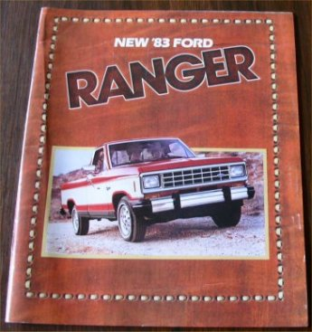 FORD RANGER 1983 USA SALES BROCHURE