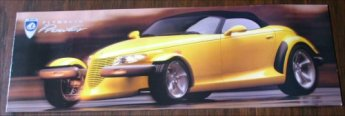 PLYMOUTH PROWLER 1998 SALES BROCHURE