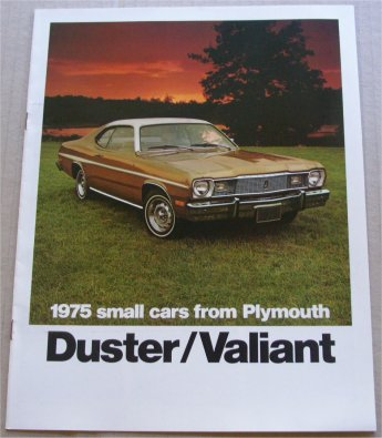 PLYMOUTH VALIANT DUSTER 1975  SALES BROCHURE