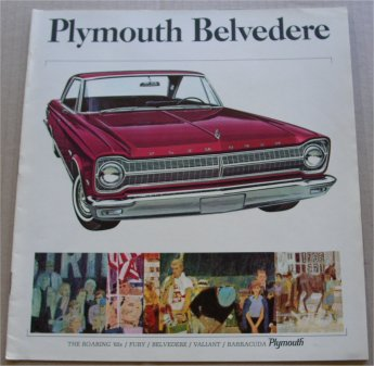 PLYMOUTH 1965 BELVEDERE SALES BROCHURE