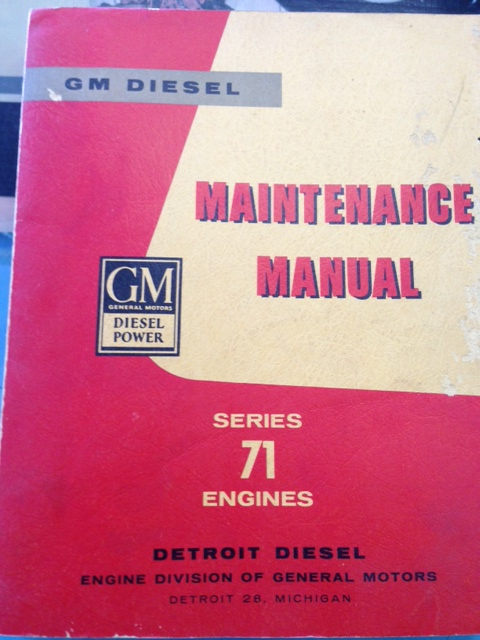 GM DIESEL 71 SERIES ENGINE HUGE MANUAL 71 71E 71T 3 4 6 CYLINDER