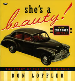 SHE'S A BEAUTY FX HOLDEN BY DON LOFFLER BRAND NEW