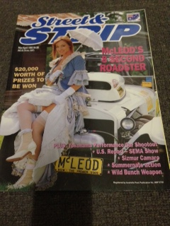 STREET AND STRIP # 33 MAGAZINE MARCH APRIL 1992