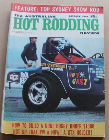AUSTRALIAN HOT RODDING REVIEW 1968/10