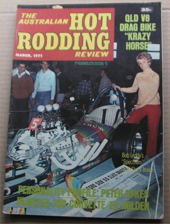 AUSTRALIAN HOT RODDING REVIEW 1971/03