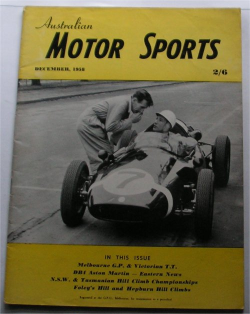 AMS 1958/12 STIRLING MOSS