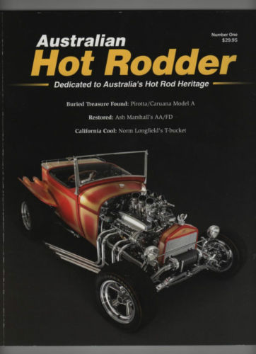 AUSTRALIAN HOT RODDER #1 LIKE RODDERS JOURNAL