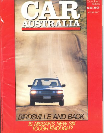 CAR 1986/10 HISTORY TORANA SKYLINE VL COMMODORE TURBO TEST