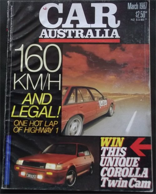 CAR 1987/03 VL HDT GROUP A SS BROCK COMMODORE PIAZZA EXA