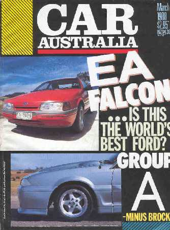 CAR 1988/03 FALCON EA COMMODORE VL HSV GROUP A
