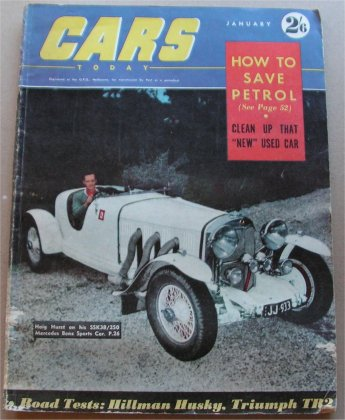 CARS 1956/01 TRIUMPH TR2 CITROEN DS19 SUNBEAM RAPI