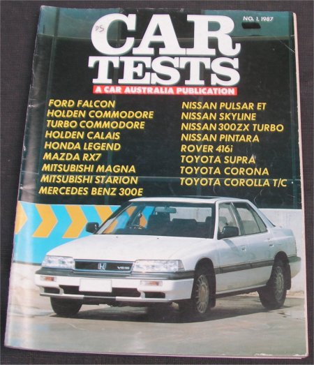 CAR 1987 TESTS ANNUAL SUPRA RX7 300ZX STARION VL TURBO 300E