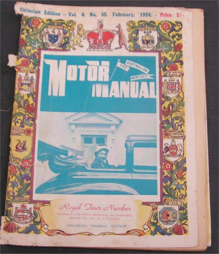 MM 1954/02 MAGAZINE ROYAL TOUR ISSUE
