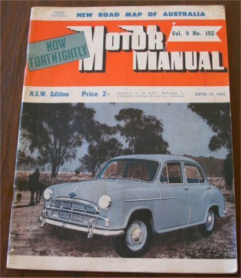 MM 1954/06-15 MORRIS OXFORD FORD ANGLIA F BIRTLES