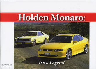 MONARO ITS A LEGEND BRAND NEW BOOK BY G FARMER